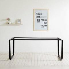 스틸 프레임 철제 테이블 식탁 DIY 1800X800 철재_(1860587)