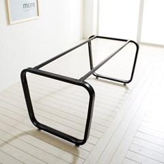 철제 DIY 식탁 조립 테이블 다리 프레임 수작업 스틸_(1860604)