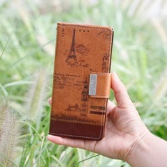 LG Q7 (LG Q720) Luv-Vint 지갑 다이어리 케이스