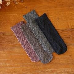 스틱 도톰한 두께 신축성 좋은 편안한 착용감 겨울양말
