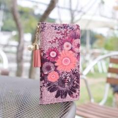 LG Q7 (LG Q720) Suk-Chic-T 뽁뽁이 지갑 다이어리 케이스