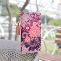 LG V30 (LG V300) Suk-Chic-T 뽁뽁이 지갑 다이어리 케이스