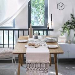 킨포크 에스닉 테이블 식탁 매트 러너