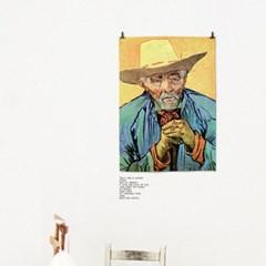 패브릭 포스터 벽에거는 천 명화 그림 액자 반 고흐 no.18