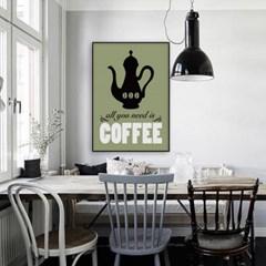 거실 주방 커피 인테리어 액자_커피니즈