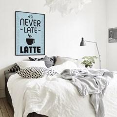 거실 주방 커피 인테리어 액자_네버라떼A