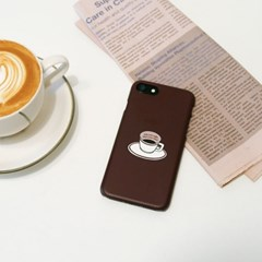 커피한잔 무광 하드케이스