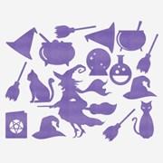 할로윈 월데코장식 - 마녀