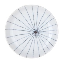 니코트 그레이 원형접시 14cm JAPAN