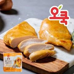 [오쿡] 부드러운 닭가슴살 5종 15+1팩_(10517599)