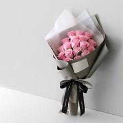 장미 20송이 비누꽃 꽃다발