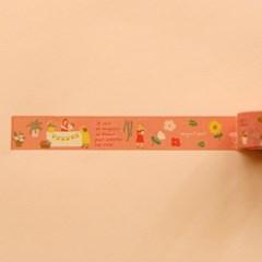 Masking tape 25mm - 10 Flower shop