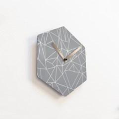 리플렉스 헥사곤 무소음벽시계 POE45HX