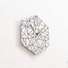 리플렉스 헥사곤 무소음벽시계 POE46HX