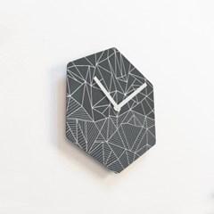 리플렉스 헥사곤 무소음벽시계 POE47HX
