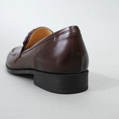 흰_HS1811 Red Brown Loafer