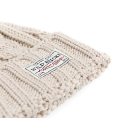 AP CABLE WATCH CAP (ivory)