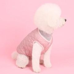 퀼팅패딩조끼(indi pink) Quilting padding