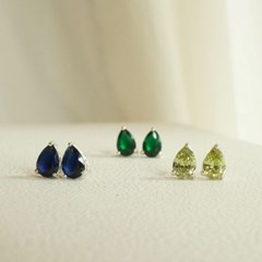 Another Pear drop earring