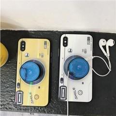 리얼글라스 스마일 카메라 스마트톡 아이폰 케이스
