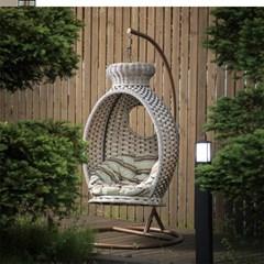 라탄 그네 의자 1인 850