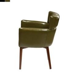 1인 라운딩 디자인 쇼파 의자 580