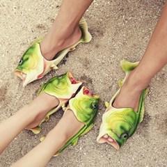 갓샵 태국 물고기슬리퍼 특이한 인싸 생선슬리퍼
