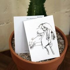 [고은미] DRAWING postcard