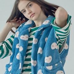 더따뜻한 수면조끼 - 복숭아
