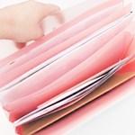 6포켓 투명 멀티 파일팩
