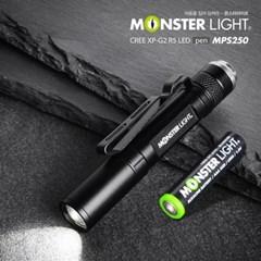 몬스터라이트 라이트팬 MPL250 미니랜턴,LED랜턴 미니손정등