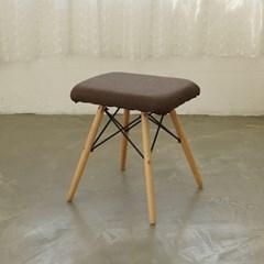 [잉카]스퀘어 북유럽풍 다용도 스툴 의자 2컬러