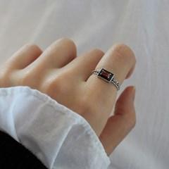 가넷 메리 반지(2type)(1월탄생석)