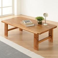 [잉카]솔향 소나무원목 접이식 테이블 800/900/1000/1100