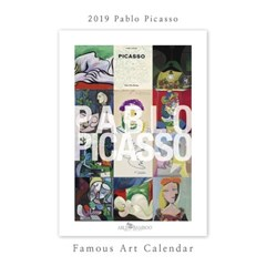 [2019 명화 캘린더] Pablo Picasso 파블로 피카소