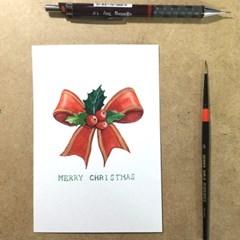 (광화문) 정성을 다하여 크리스마스, 신년카드 만들기
