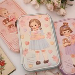 paper doll mate multi pen pouch L ver.3_Julie