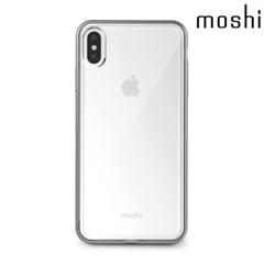 모쉬 아이폰XS Max 투명 소프트케이스 비트로스_실버