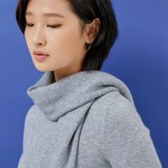 Ilch Cashmere Sweater Women_Melange Grey
