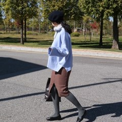 Winter wool skirt(울20%)