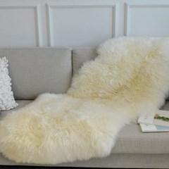 대형 천연 양털 (70x150cm)