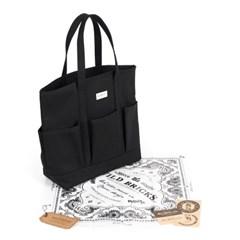 ROUND GARDEN BAG (black)