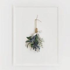 행잉플라워 자작나무 블루베리묶음_(608702)