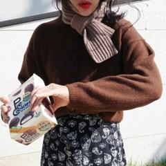 Bread wool muffler(울80%)