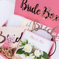 [브라이덜샤워 웨딩 파티용품] 브라이드 박스