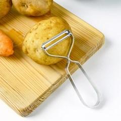 스텐 감자칼 야채 과일 필러 채칼_(898881)