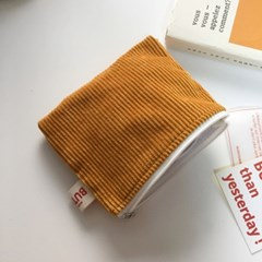 BUTTER corduroy pouch 버터 골덴파우치