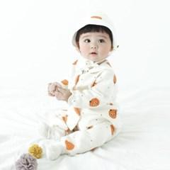 [메르베] 귤귤 신생아 아기내복/내의/유아실내복_겨울용_(1144520)