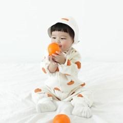 [메르베] 귤귤 신생아 우주복/북유럽아기옷_겨울용_(1144508)