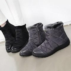 kami et muse Pedding short ankle fur boots_KM18w137